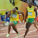World record 4x100m Gold for Jamaica