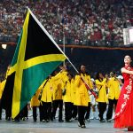 Team Jamaica at Beijing Olympics Opening Ceremony