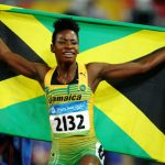 Melaine Walker is Olympic 400m hurdles champion
