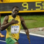 Usain Bolt lowers 100m World Record