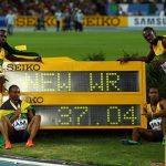 Men's 4x100m World record for Jamaica!