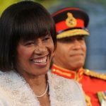 Portia Simpson Miller sworn in as Jamaica's Prime Minister