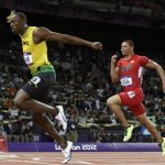 Usain Bolt wins 100m in Olympic Record