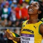 Shelly-Ann blasts to victory in the 100m at the London Olympics